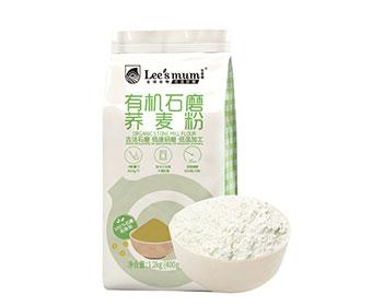 有机石磨荞麦粉